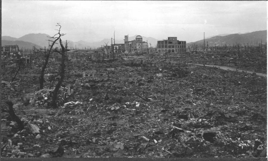 Photos Of The Hiroshima Aftermath That Reveal The Bombing's True Devastation